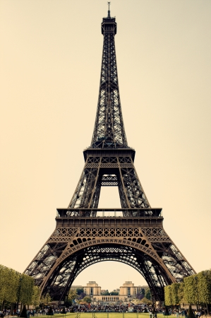 Eiffel Tower in Paris  France Editorial