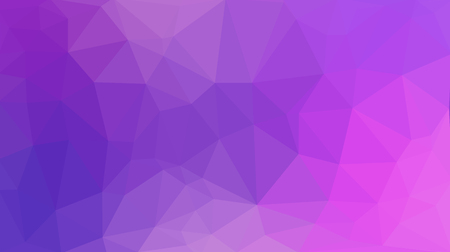 Fashionable and modern abstract purple polygonal background