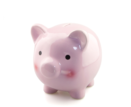 conceptional: Piggy bank Stock Photo