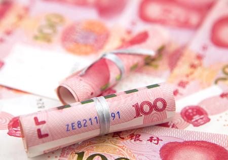 bankroll: Chinese banknotes
