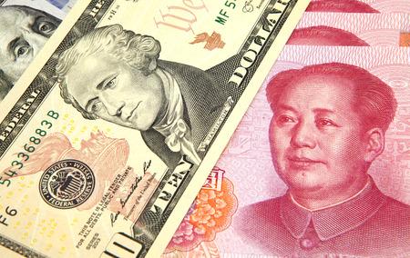monetary devaluation: US dollar vs Chinese RMB