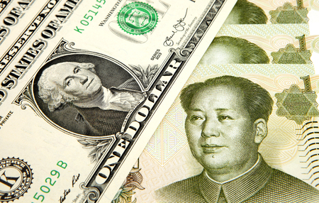 yuan: US dollar and Chinese yuan
