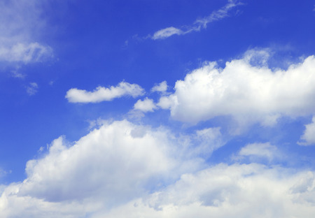 airstream: Blue sky and clouds