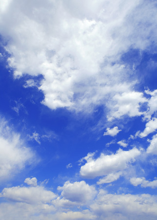 nebulosity: Blue sky with clouds