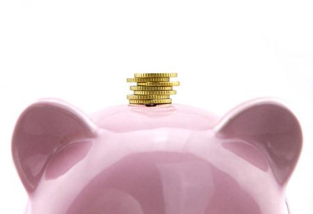 economise: Saving concept Stock Photo
