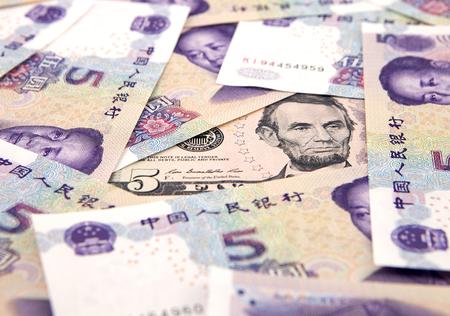 monetary devaluation: US dollar against china yuan