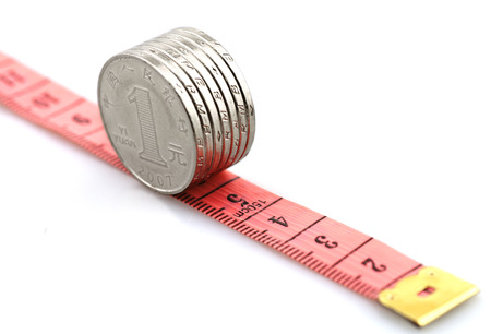 Coins with meter