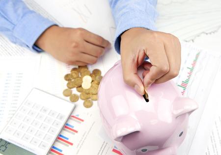 business savings: Business savings