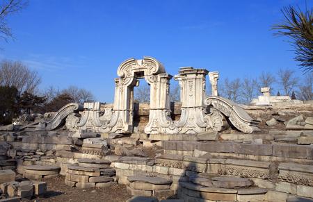 Yuanmingyuan ruins Editorial