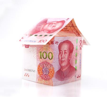 hundred yuan banknotes Stok Fotoğraf