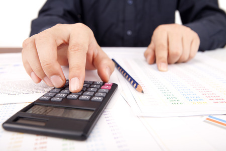 Investment and Financing Stock Photo