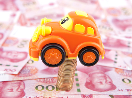 car selling in higher prices concept Stock Photo