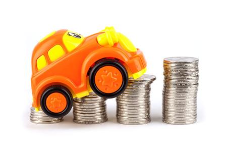 Car price rise concept