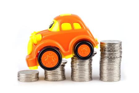 Falling car prices
