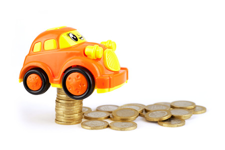 Car models on euro coins