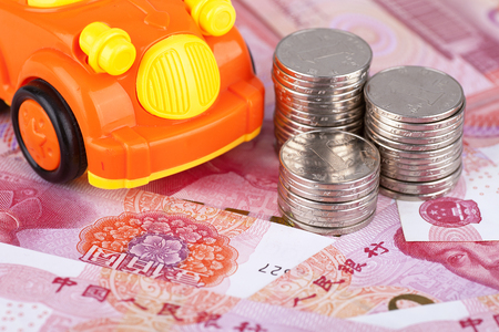 RMB and car
