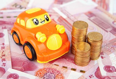 Car model and RMB
