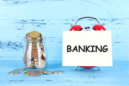 Bank savings concept Stock Photo