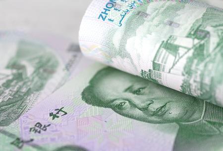 Fifty yuan notes