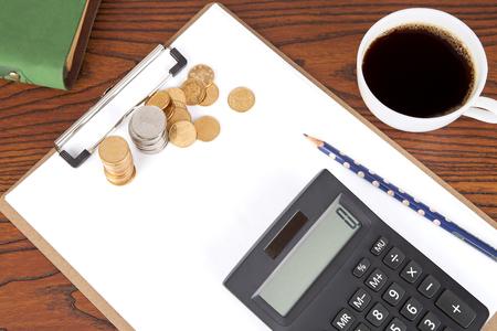 Financial concept scene Editorial