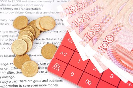RMB and calculator