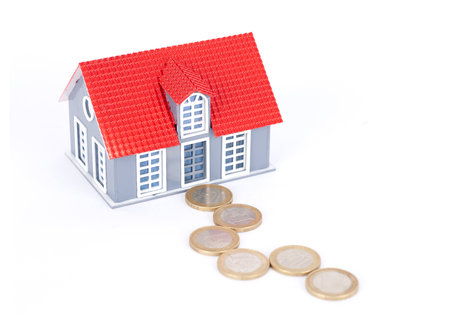 arrears: House model and the path of euro coins