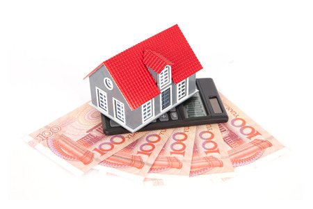 arrears: Real estate industry Stock Photo