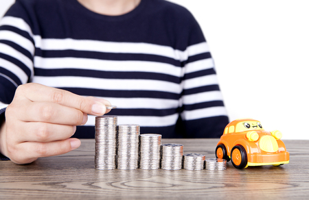 strapped: Save money to buy a car