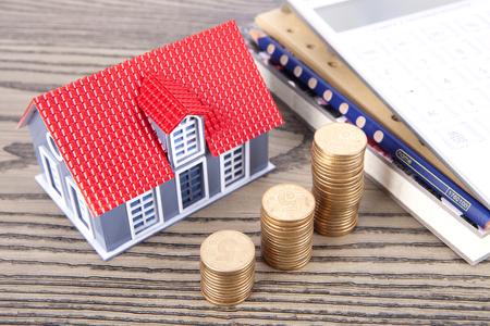golden rule: House transaction Stock Photo