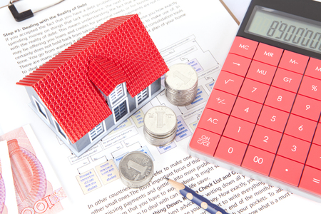 building regulations: Commercial housing investment Stock Photo