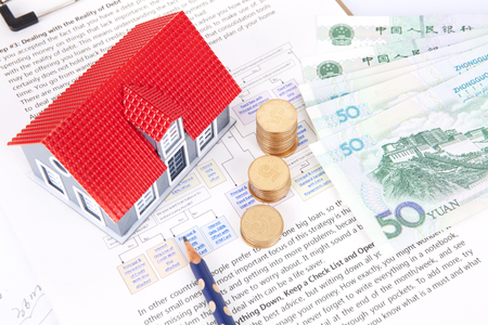 purchase: House purchase plan concept