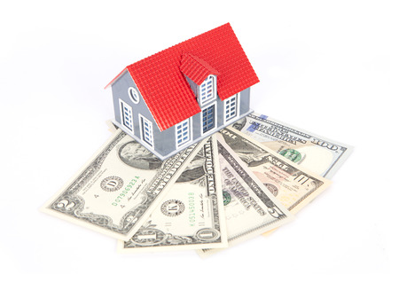 House model on dollar