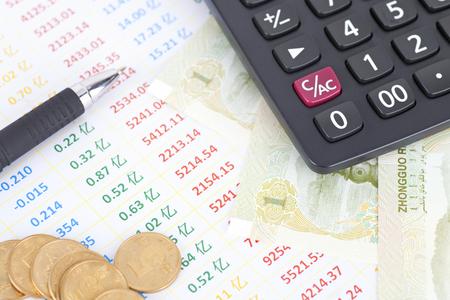 property management: Financial concept