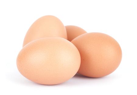 Ein Haufen von Eiern