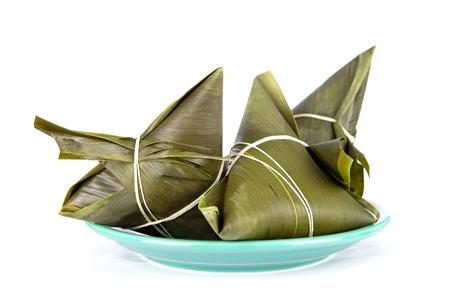 Reisknödel auf dem Teller