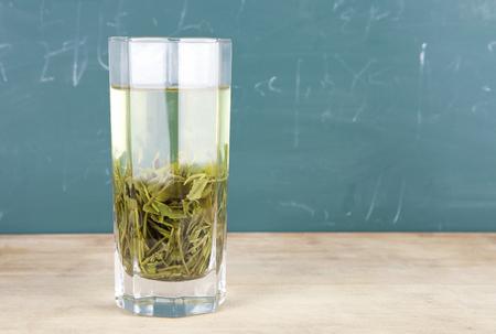 Eine Tasse grüner Tee Lizenzfreie Bilder