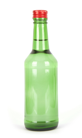 A bottle of soju Banco de Imagens - 90495606