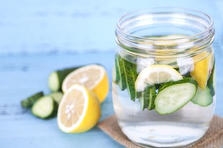 Summer lemonade Stock Photo