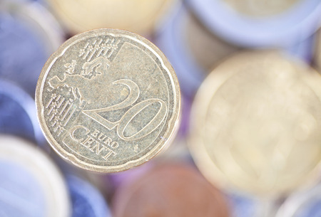 20 cents in euro coins