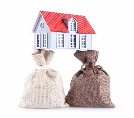 Concept of the rising of property prices
