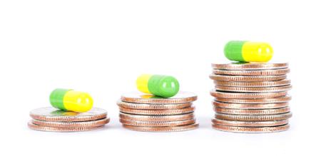 Expensive drug prices Stock Photo