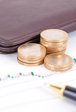 Financial planning 写真素材