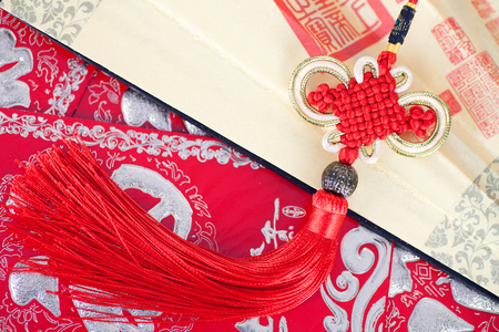 Chinese Spring Festival element Stock Photo