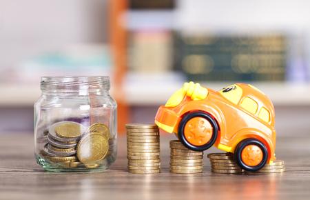 車を買うためにお金を節約