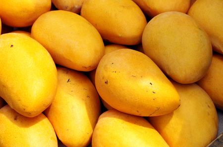 mangoes close up view