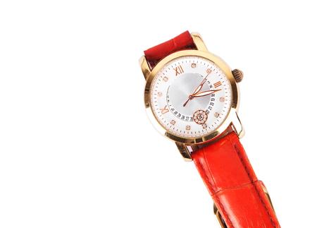 A wristwatch in the white background Standard-Bild