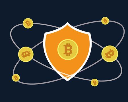 Bitcoin Stock fotó - 94438271