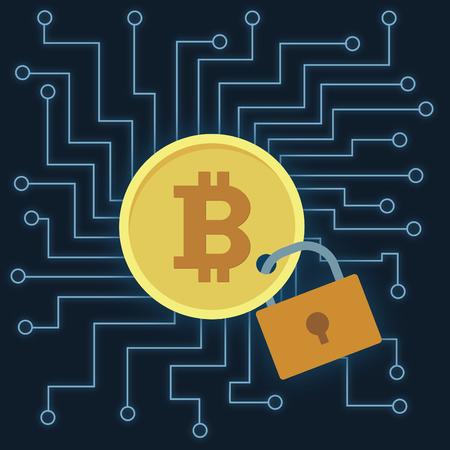 Bitcoin Stock fotó - 94438286
