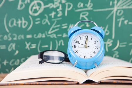 Learning time Stock Photo