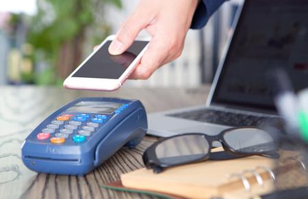 Méthode de paiement mobile Banque d'images - 100034132